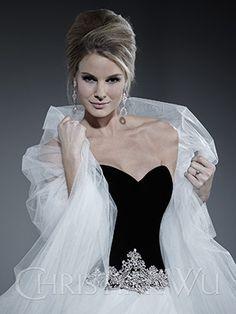 Planning a December Wedding? How about Black Velvet.........