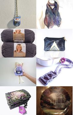 Purple blue  by Lina Rekl on Etsy