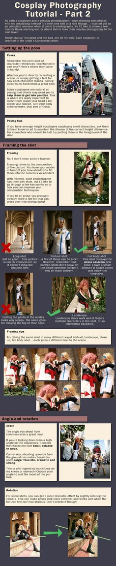 Cosplay Photography Tutorial 2 by *Risachantag on deviantART