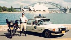 XD Falcon police car