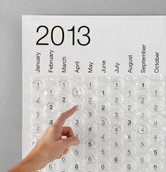 Bubble Calendar by Stephen Turbek