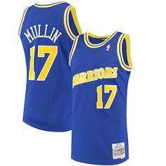 2e56a6301 Chris Mullin Golden State Warriors Mitchell   Ness 1993-94 Hardwood  Classics Swingman Jersey - Royal