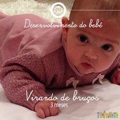 Virando de bruços - desenvolvimento do bebê, nova serie do #tempojunto