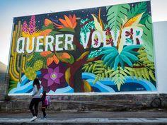 Art as a tool for change Murals Street Art, Street Art Graffiti, Schrift Design, Murals For Kids, Futuristic Art, Mural Wall Art, Collaborative Art, Art Graphique, Grafik Design
