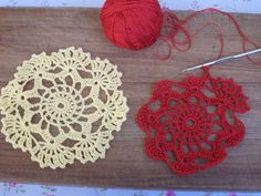 Pattern for crochet Lace Doilies, Crochet Doilies, Crochet Lace, Crochet Projects, Free Pattern, Crochet Earrings, Crochet Patterns, Crochet Ideas, Delicate