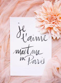 Meet me in Paris!