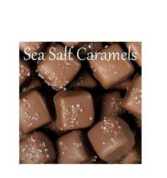 Chocolate Seasalt Caramels Milk or Dark Chocolate