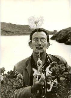 Salvador Dali - His biography is linked to this picture.