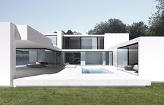 House in Sint-Martens-Latem Belgium - render by BRITSOM & PHILIPS architects