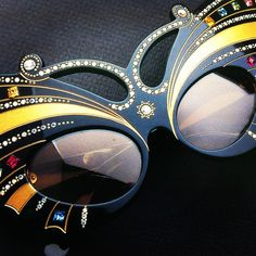 """"""" I would like these glasses to be your guardian angel through which you see a human being in front of you, regardless of religion, culture, color or nationality. They will not only protect you from the sun. They will help you to live beautiful."""""""