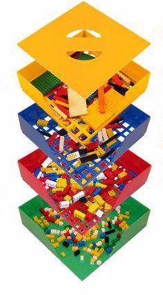 Fancy - BOX4BLOX - Lego Toy Storage Box