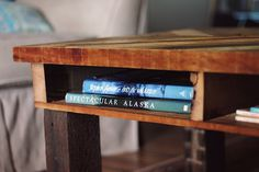 DIY Pallet Wood Table | The Merrythought