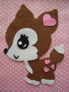 Felting Craft ~ very cute! Felt Diy, Felt Crafts, Diy And Crafts, Arts And Crafts, Paper Crafts, Felt Patterns, Applique Patterns, Illustration Noel, Felt Decorations