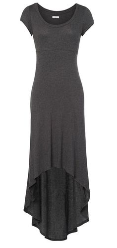 Comfy Maxi Dress - wear with scarf, belt and booties in the winter or some sandals and a side braid in the summer