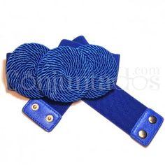 Cinturón-fajín Sirkel en azul