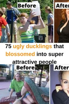 Everyone loves an inspiring story about personal transformation that's perhaps best epitomized in the famous fairytale 'The Ugly Duckling'. We all know how the story goes: Amazing Transformations, Ugly Duckling, Change Is Good, Attractive People, Pranks, Beautiful Swan, Being Ugly, Fun Facts, How To Look Better