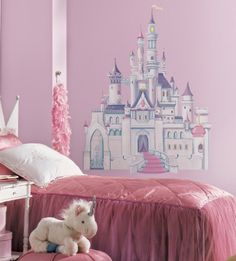 Bedroom Decor Ideas and Designs: How to Decorate a Disney's Princess Cinderella Themed Bedroom