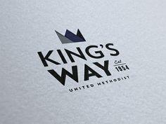 Dribbble - King's Way // brand update by Josh Stewart