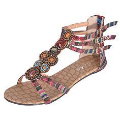 Hee Grand Sommer Damen Elegante Flache Schuhe Roemersandalen Casual T-Spangen Sandalen Rot chinesische 40 Hee Grand http://www.amazon.de/dp/B00X3LBAO8/ref=cm_sw_r_pi_dp_7i8Cwb1AK6WE6