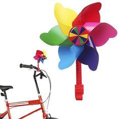 Bicycle Handlebar Grip Streamers Cloth Ribbon Flowers Girls Kids MTB BMX Bike