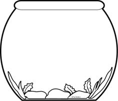Template for fishbowl Results for pets Preschool Guest - The Mailbox