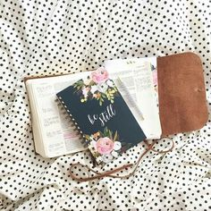 Leather Bound Journaling Bible by Kristin Schmucker | http://kristinschmuckershop.com/collections/devotional-journals/products/esv-single-column-journaling-bible