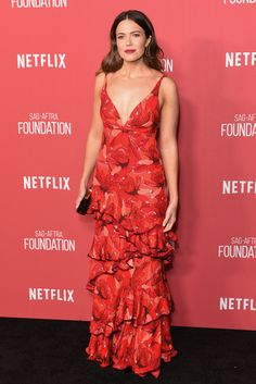Mandy Moore was stunning in a Johanna Ortiz crimson gown at the SAG-AFTRA Foundation Patron of the Artists Awards. (Getty)  via @AOL_Lifestyle Read more: https://www.aol.com/article/lifestyle/2017/11/14/glamour-women-of-the-year-awards-2017-red-carpet-arrivals/23276868/?a_dgi=aolshare_pinterest#fullscreen