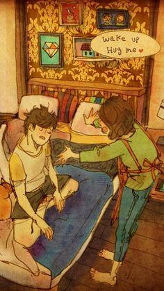 Wake Up Hug Me By Puuung