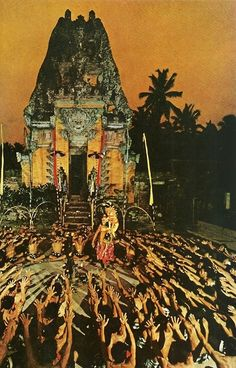 Reenactment of a Hindu epic in Bali National Geographic | November 1969