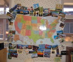"fifth grade classroom | Postcard Project - See below. 10/23/06 This is a neat project that might help low socioeconomic students ""travel"" across the country with pictures or even virtually using the internet."