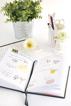 Print it   Colourful diary stickers