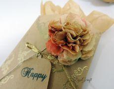 Plicuri marturi/bijuterii Floral Style