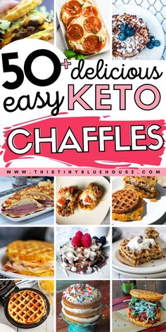 Enjoy one of these easy Keto Chaffle recipes any day of the week with absolutely zero guilt. These easy to make and super satisfying low carb chaffles are great for anyone living a Keto lifestyle. Roast Recipes, Low Carb Recipes, Tofu Recipes, Steak Recipes, Turkey Recipes, Crockpot Recipes, Chicken Recipes, Healthy Recipes, Instant Pot