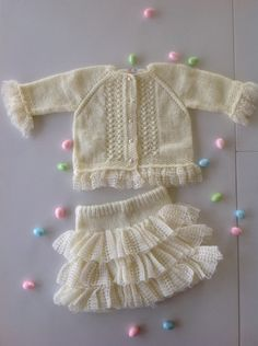Baby girl Easter outfitEaster dress1year by TwoNeedlesOneMagic