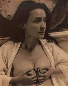 Portrait of Georgia O'Keeffe (love letters) by Alfred Stieglitz