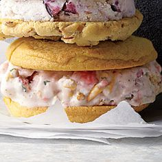 Strawberry-Pretzel Ice Cream Recipe