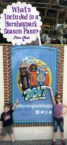 What's Included in a Hersheypark Season Pass? #ad #sweetestmoms