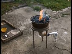 DIY | Building a forge - YouTube
