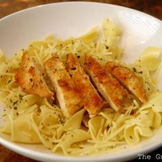 Copycat Noodles & Company Parmesan Chicken and Buttered Noodles