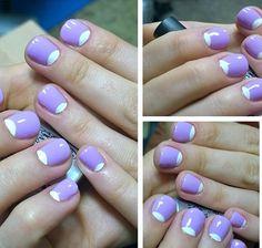 Лунный маникюр - moon manicure - Inspiration manicure