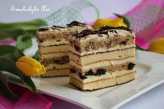 Pyszny sernik przekładany Poke Cakes, Lava Cakes, Cupcake Cakes, Pastry Recipes, Cake Recipes, Dessert Recipes, Cooking Recipes, Polish Desserts, Polish Recipes