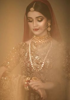 bride and wedding image Beautiful Indian Brides, Beautiful Bride, Bridal Looks, Bridal Style, Pakistani Bridal Makeup, Pakistan Wedding, Asian Bridal, Desi Wedding, Wedding Ideas
