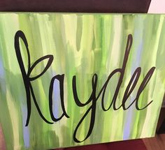 Kappa delta canvas painting kaydee sorority craft big little