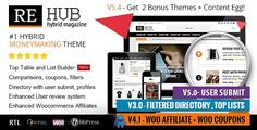 ThemeForest - REHub-Directory,Shop,Coupon,Affiliate Theme Free Download