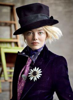 Emma Stone | photo: Patrick Demarchelier for Vogue