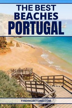 The Best Beaches in Portugal for All Beach Goers - Portugal is a beautiful country with stunning beaches. Check out our latest blog to find out the best beaches in Portugal #portugal #portugalbeaches #bestofportugal #exploreportugal #visitportugal #portugalhighlights #thealgarve #praiadarocha #portugaltips #wonderfulportugal #secludedbeaches Best Beaches In Portugal, Visit Portugal, Portugal Travel, Spain And Portugal, Most Beautiful Beaches, Beautiful Places To Travel, Best Places To Travel, Places To Go, Holiday Destinations