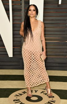 Zoe Kravitz | And Here's What Everyone Wore To The Oscars After Parties