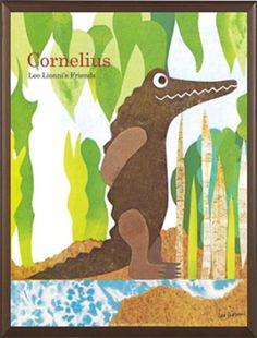 Leo Lionni, Cornelius, Book Binding, Moose Art, Poster, Fancy, Gallery, Illustration, Collage