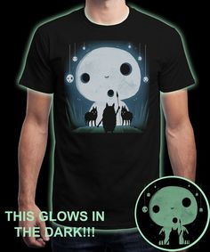 """Hime Moon"" is today's £8/€10/$12 tee for 24 hours only on www.Qwertee.com Pin this for a chance to win a FREE TEE this weekend. Follow us on pinterest.com/qwertee for a second! Thanks:)"