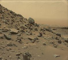 'Curiosity' fotografía las formaciones rocosas del desierto de Marte | Ciencia…